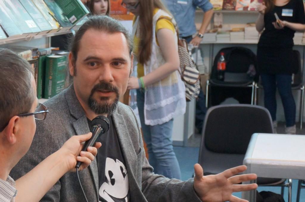 Ekulturás interjú a könyvfesztiválon