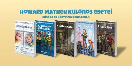 Mind az öt könyv egy csomagban